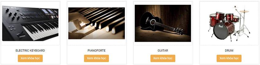 học đàn online trên việt thương music