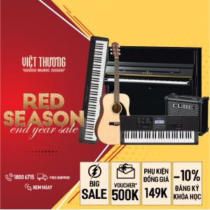 khuyến mãi cực lớn tại RED SEASON 2020 Viet Thuogn Music