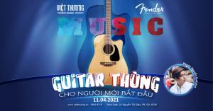Workshop guitar: Guitar thùng cho người mới bắt đầu
