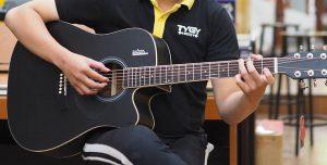 Những mẫu đàn guitar được sử dụng phổ biến 1